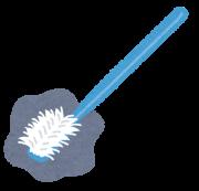 開いた歯ブラシ