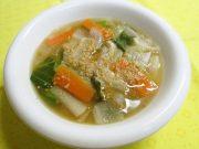 冬野菜のぽかぽかスープ